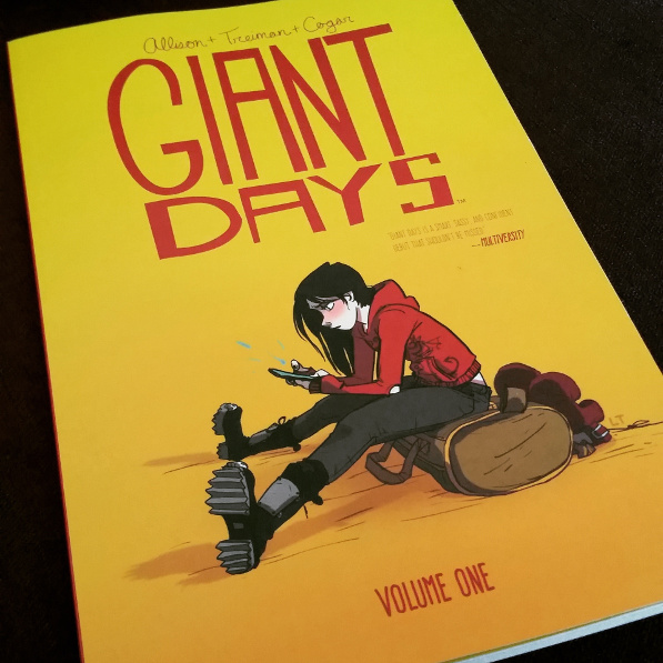 Giant Days, book, comic book, graphic novel