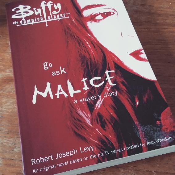 faith, buffy book, buffy the vampire slayer, go ask malice